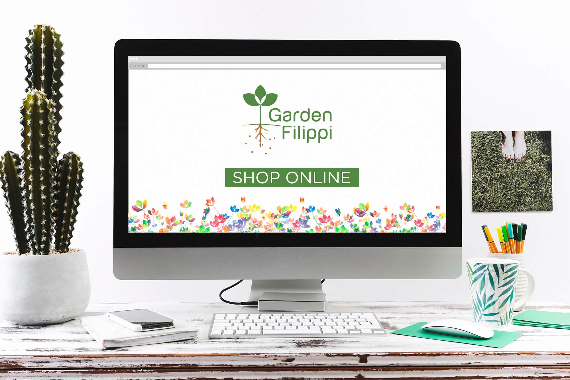 copertina negozio online - garden filippi vicenza
